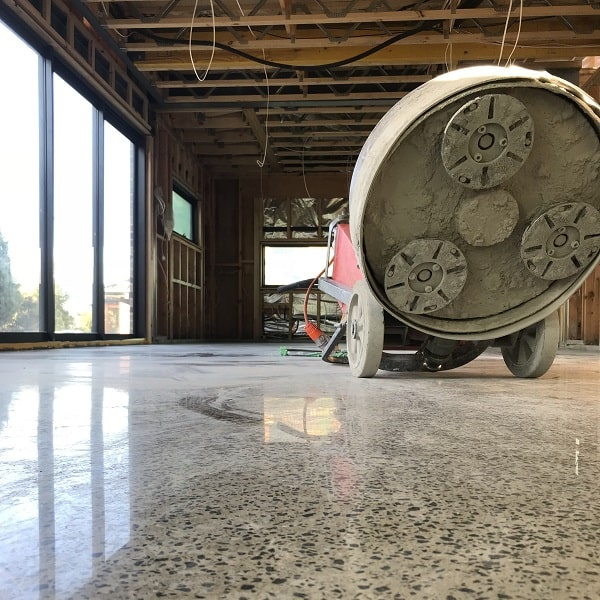polished concrete hoppers crossing