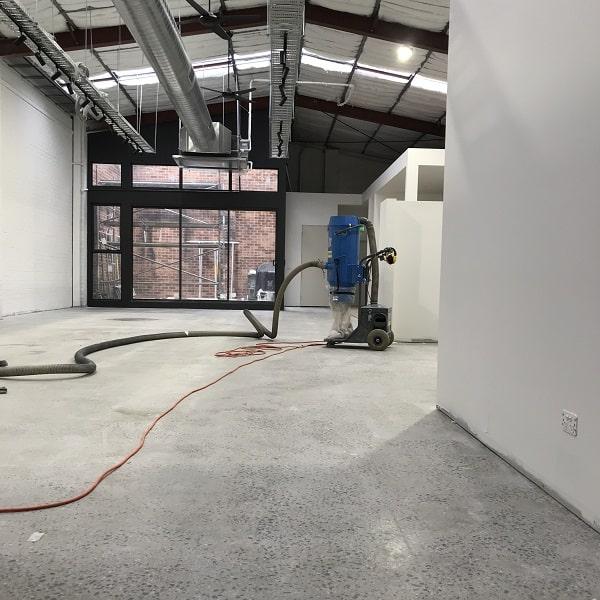 polished concrete melbourne